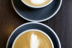Whitebeard blackbird , sajátkészítésű sóskaramell szirupos cappuccino