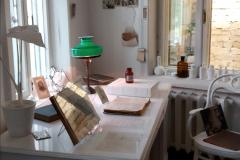 Bulgakov íróasztala