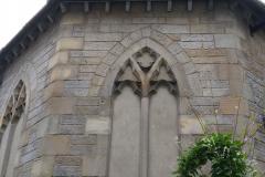 Baptist church hátulról az asztalunk mellett