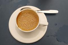 az espresso macchiato második élete keverés után