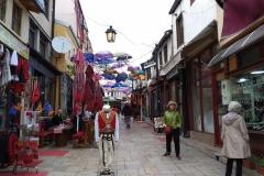 A Bazár  egyik utcácskája