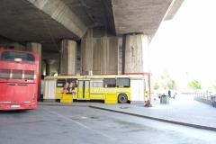 Buszjegyvásárlásra kijelölt hely